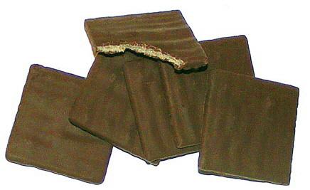 flinterdunne spelt-melkchocoladetabletjes