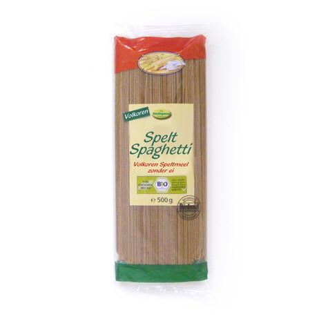 Spelt Spaghetti van Volkoren-speltmeel (Dubbele hoeveelheid)